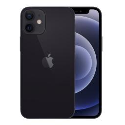 Celular Apple iPhone 12 Mini 5.4'' Super Retina XDR 2 Cámaras 5G NR 64GB iOS14 MGA03LL/A Nuevo - NEGRO