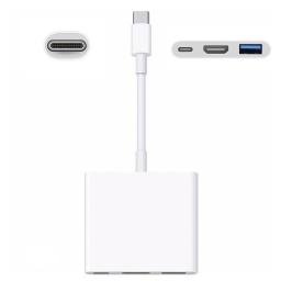 Adaptador Multipuerto Digital Apple MUF82AM/A USB-C/USB/HDMI 4K