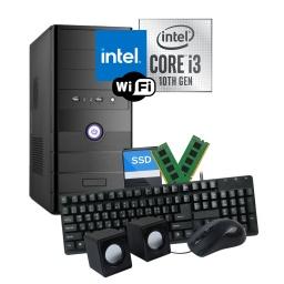 PC Computadora Intel Core i3-10100 8GB Ram DDR4 240GB SSD WiFi