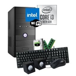PC Computadora Intel Core i3-10100 8GB Ram DDR4 2TB HDD WiFi