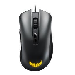 Mouse Ergonómico Asus TUF Gaming M3 7 Botones Programables y Aura Sync
