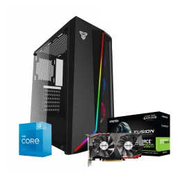 PC Computadora Gamer Core i3-10105F 16GB Ram DDR4 120GB SSD + 2TB HDD con Video GTX 1050Ti 4GB DDR5