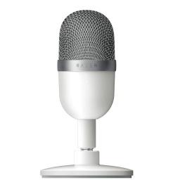 Microfono Profesional Condensador Razer Seiren Gaming Streaming Ultra-Compacto - Blanco