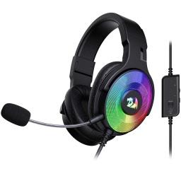 Auricular Redragon Pandora H350 RGB con Microfono Desmontable