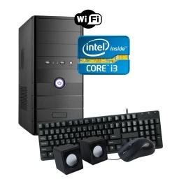 Pc Computadora Nueva INTEL Core i3 4GB 500GB WiFi