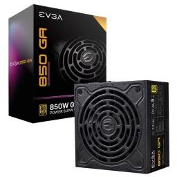Fuente EVGA 850W Reales Certificación 80 PLUS Gold SuperNova 220-GA-0850-X1 Modular