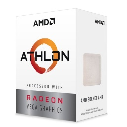 Micro Procesador CPU AMD Athlon 3000g Socket AM4 3.5GHz Radeon Vega 3 Graphics