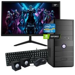 Pc Computadora Completa Nueva INTEL Core i5-3470 8GB 240GB SSD Video GeForce GT710 + Perifericos + Monitor Nuevo LED 19'