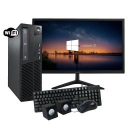 PC Computadora Lenovo ThinkCentre AMD Dual Core 4GB 500GB Completa con Monitor LED 19''