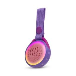 Parlante JBL JR POP Portátil Bluetooth con Bateria Resistente Agua IPX7 - Purpura