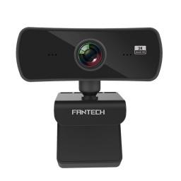 Camara Web Fantech Luminous C30 Gamer o Streamer Pro Resolución QHD 2k 4MP con Micrófono integrado