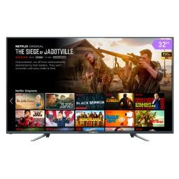 Smart TV Punktal PK-32KSM 32'' WiFi Procesador Quad Core, Sintonizador Digital, Navegador, Aplicaciones y Mas