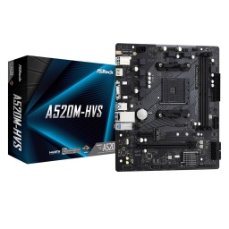 Motherboard ASRock A520M-HVS AMD AM4 Ryzen Series DDR4
