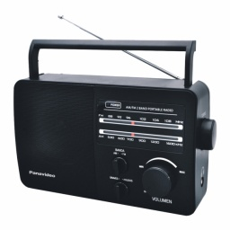 Radio Portatil Panavideo PV-96AC AM/FM Pilas y Corriente