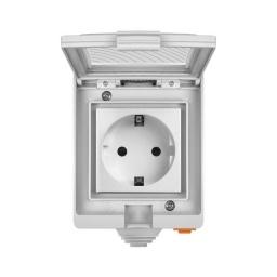 Sonoff S55 Enchufe inteligente WiFi a prueba de agua Fácil Instalación - Smart Home