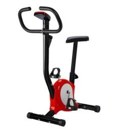 Bicicleta Fija Ergometrica Fitness Con Monitor Alturas regulables Hasta 100Kg