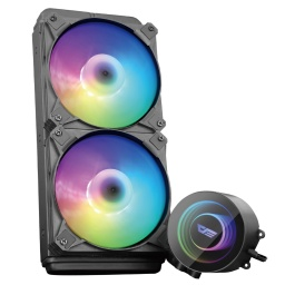 Water Cooling Refrigeracion Líquida Kit DarkFlash DX240 ARGB INTEL / AMD - Negro