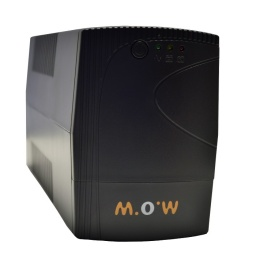 UPS Regulador/Protector de Voltaje Plus MOW 850VA EA20085 220v. 510w Indicador LED