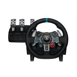 Volante Gamer Profesional Logitech G29 con Pedalera  para PC PS3 PS4 y PS5