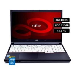 Notebook Fujitsu Lifebook A574 Intel Core i5-4310M 8GB 320GB Pantalla 15.6'' Windows 10 Pro Español - Reacondicionado