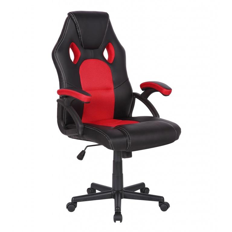 Silla Gamer Gaming Racing Pro 5179 Cómoda Ergonomica De Calidad - Roja