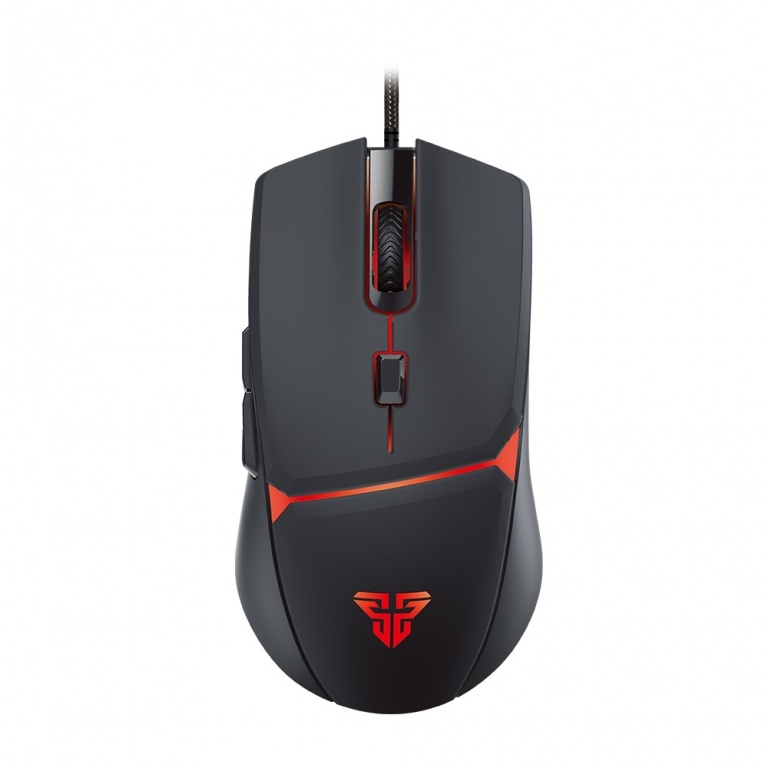 Mouse Gamer Fantech Crypto VX7 6 Botones 4 Colores LED 60 IPS / 15G - Negro