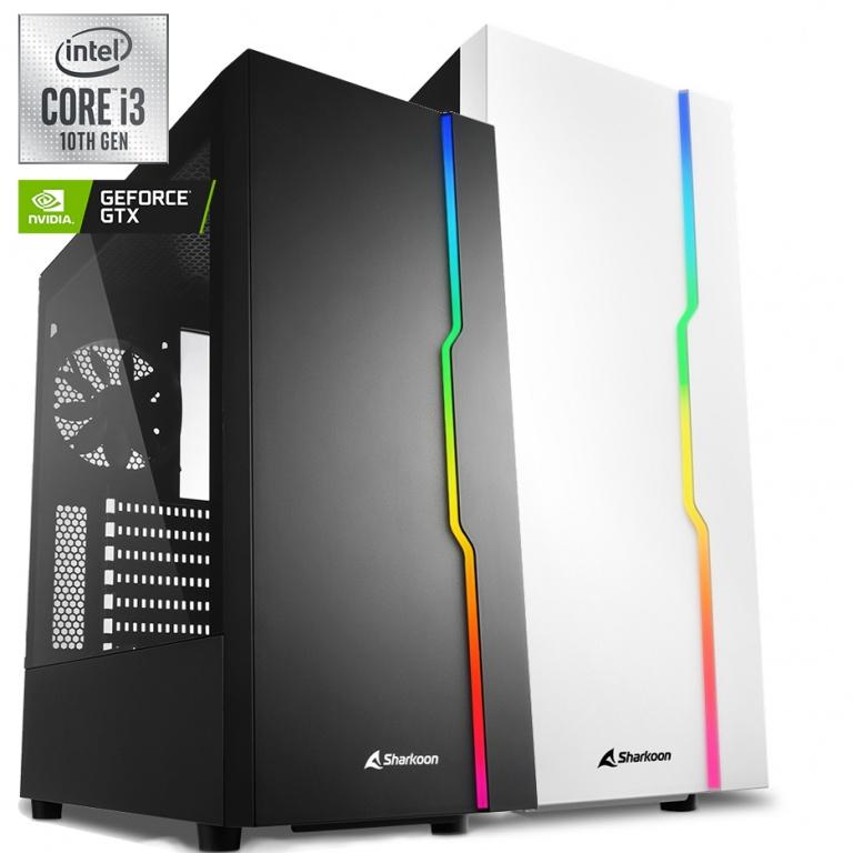 PC Computadora Gamer Core i3-10105F 16GB Ram DDR4 1TB M.2 SSD Video GTX 1660 Super 6GB Warrior Case RGB 3x Fan