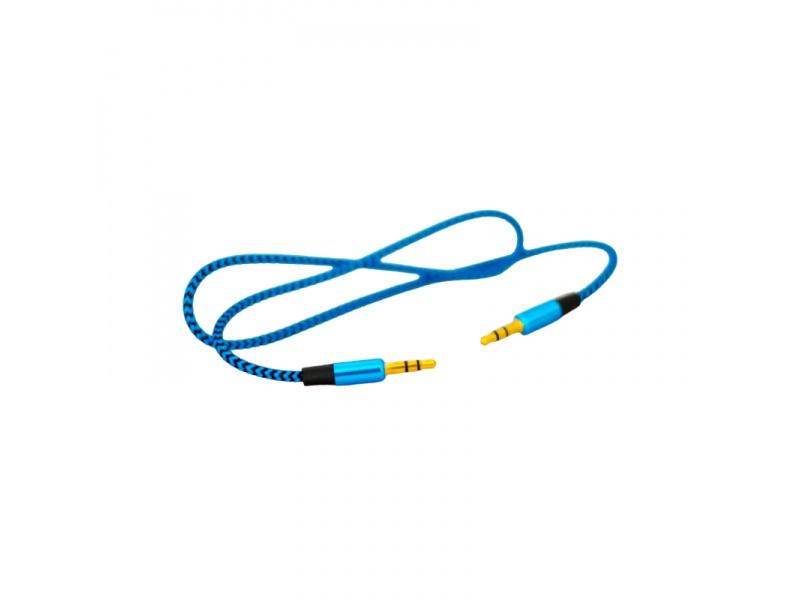 Cable de Audio Auxiliar ROCA 3.5mm a 3.5mm (1 Metro)