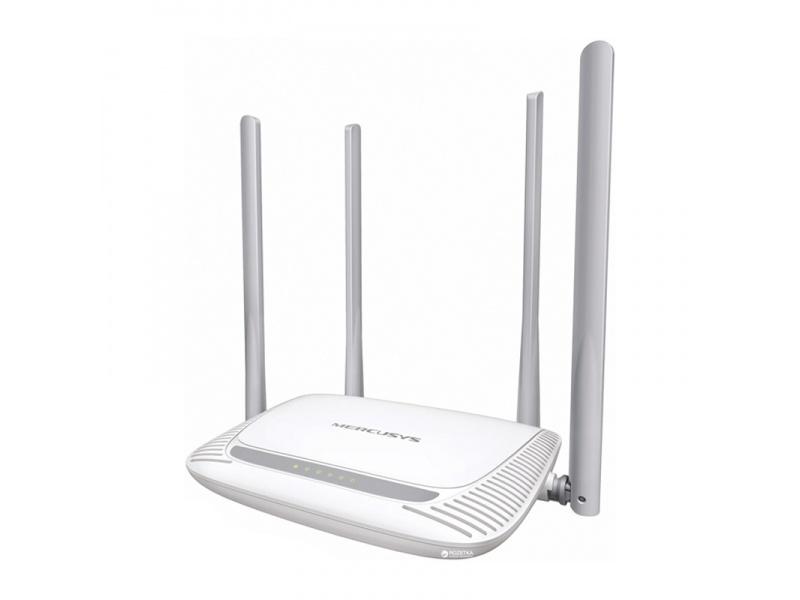 Router inalambrico Mercusys MW325R N de 300Mbps 4 Antenas Extra Alcance