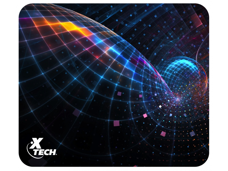 Mouse Pad X-TECH Colonist XTA-181 22x18x0,2Cm. Base Antideslizante