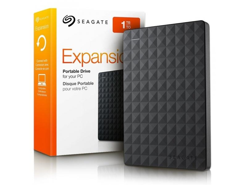 "Disco Duro Externo Seagate Expansion 2.5"" 1TB USB 3.0"