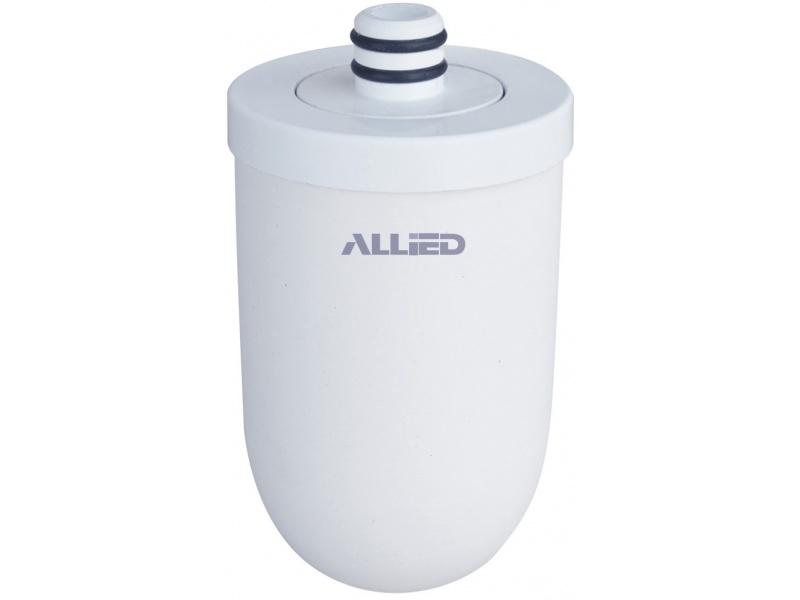 Filtro Purificador De Agua Allied AL-RF2 Ceramica y Carbon Activo Para Canilla