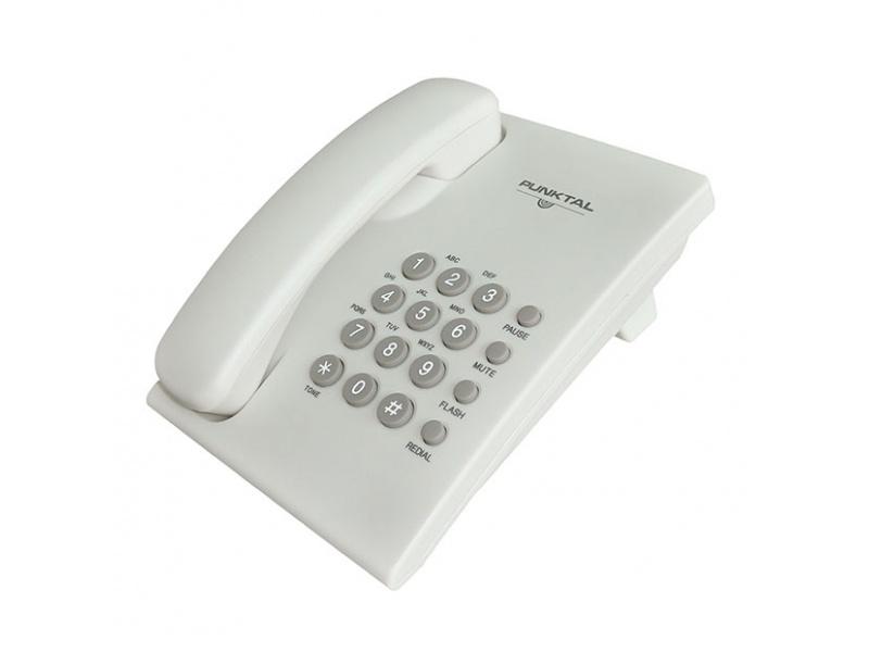 Telefono de Mesa / Pared Punktal PK-TM207 Volumen Ajustable