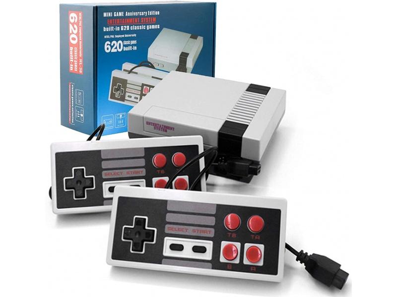 Consola de Juegos Retro Family Game con 2 Joystick y 620 Juegos incorporados