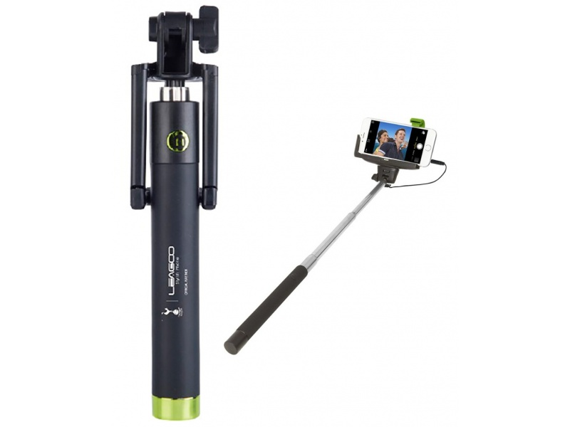 Palo Selfie Stick Leagoo para Celulares Conector 3.5mm