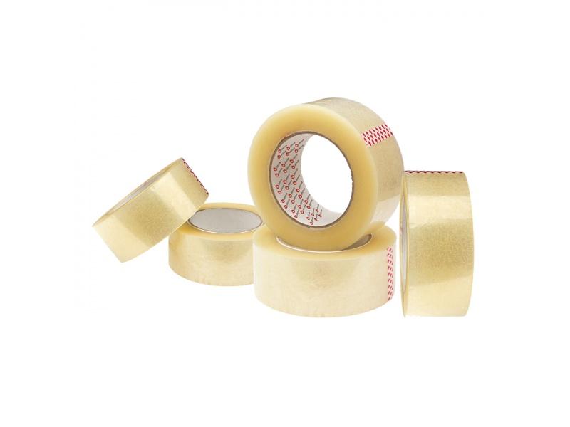 Cinta Adhesiva de Empaque Ancha Transparente 100 Metros c/u Pack x 5 Unidades