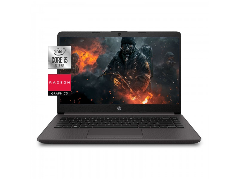 Notebook HP 240 G8 i5-1035G1 12GB 250GB SSD Nvme + 1TB HDD 14'' HD Tarjeta de Video Radeon 2GB DDR5 Dedicados Español Nu