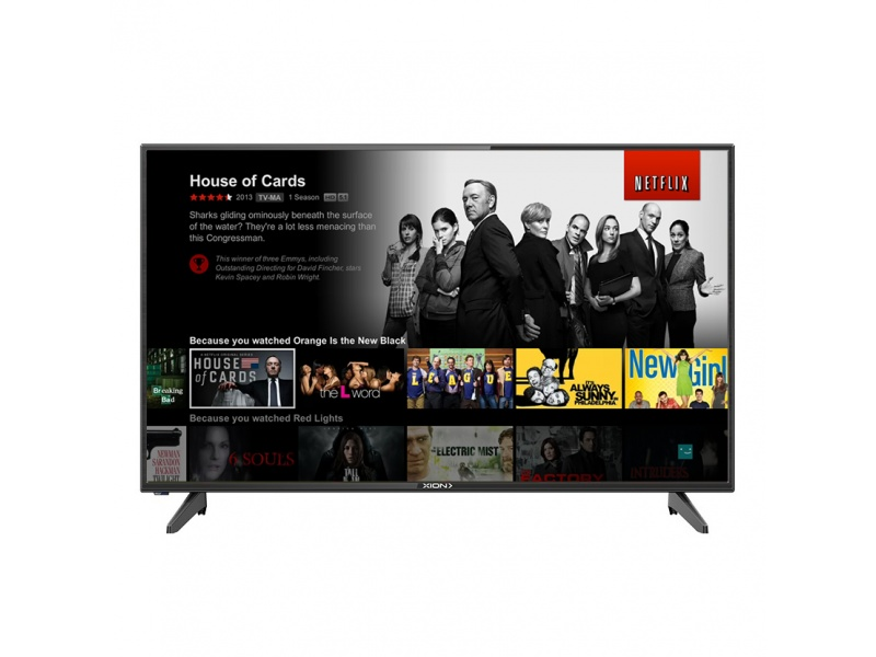 Smart TV Xion XI-LED40SMART 40'' HD Android WiFi Sintonizador Digital HDMI USB