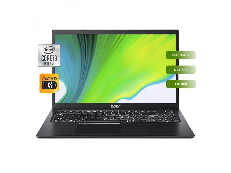 Notebook Acer A515-54-36HV-ES Core i3-10110U 12GB 1TB 15.6'' Full HD Nueva